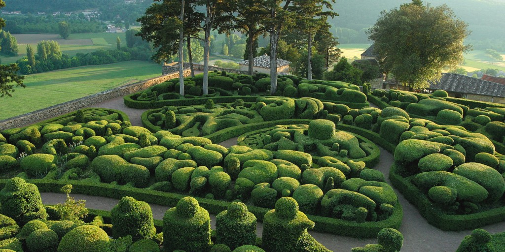 マルケイサック庭園の景色