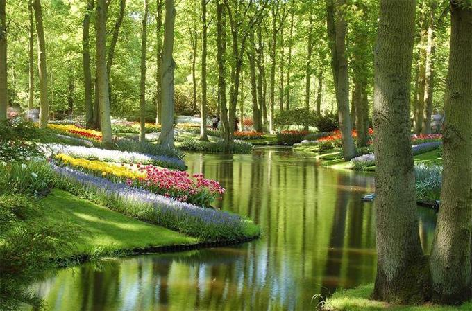 死ぬまでに一度は行きたい世界の絶景:オランダのキューケンホフ公園