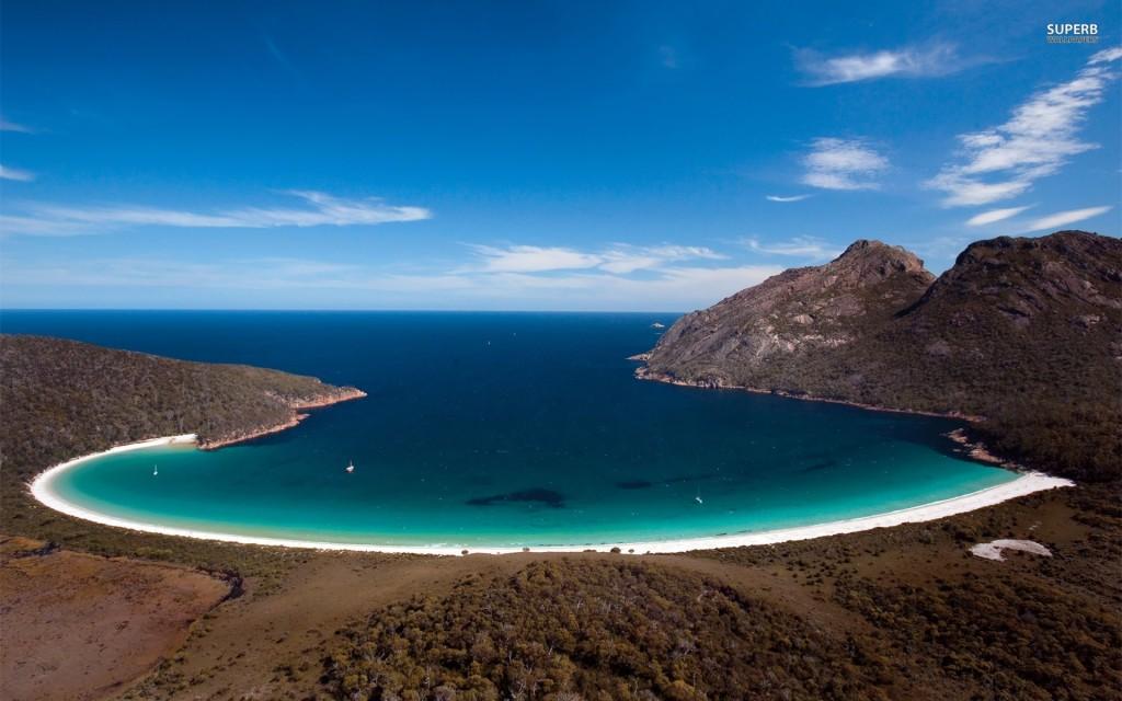 【死ぬまでに一度は行きたい世界の絶景】オーストラリアのワイングラスベイ