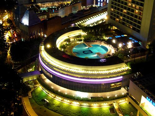 パン・パシフィック・シンガポール Pan Pacific Singaporeのスイミングプール
