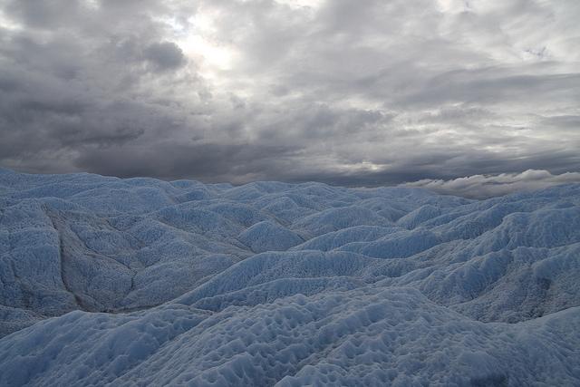 氷の峡谷周辺の風景