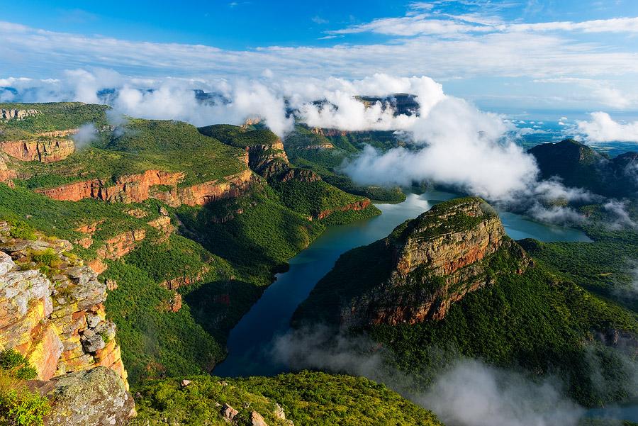 死ぬまでに一度は行きたい世界の絶景:南アフリカのブライデリバー・キャニオン