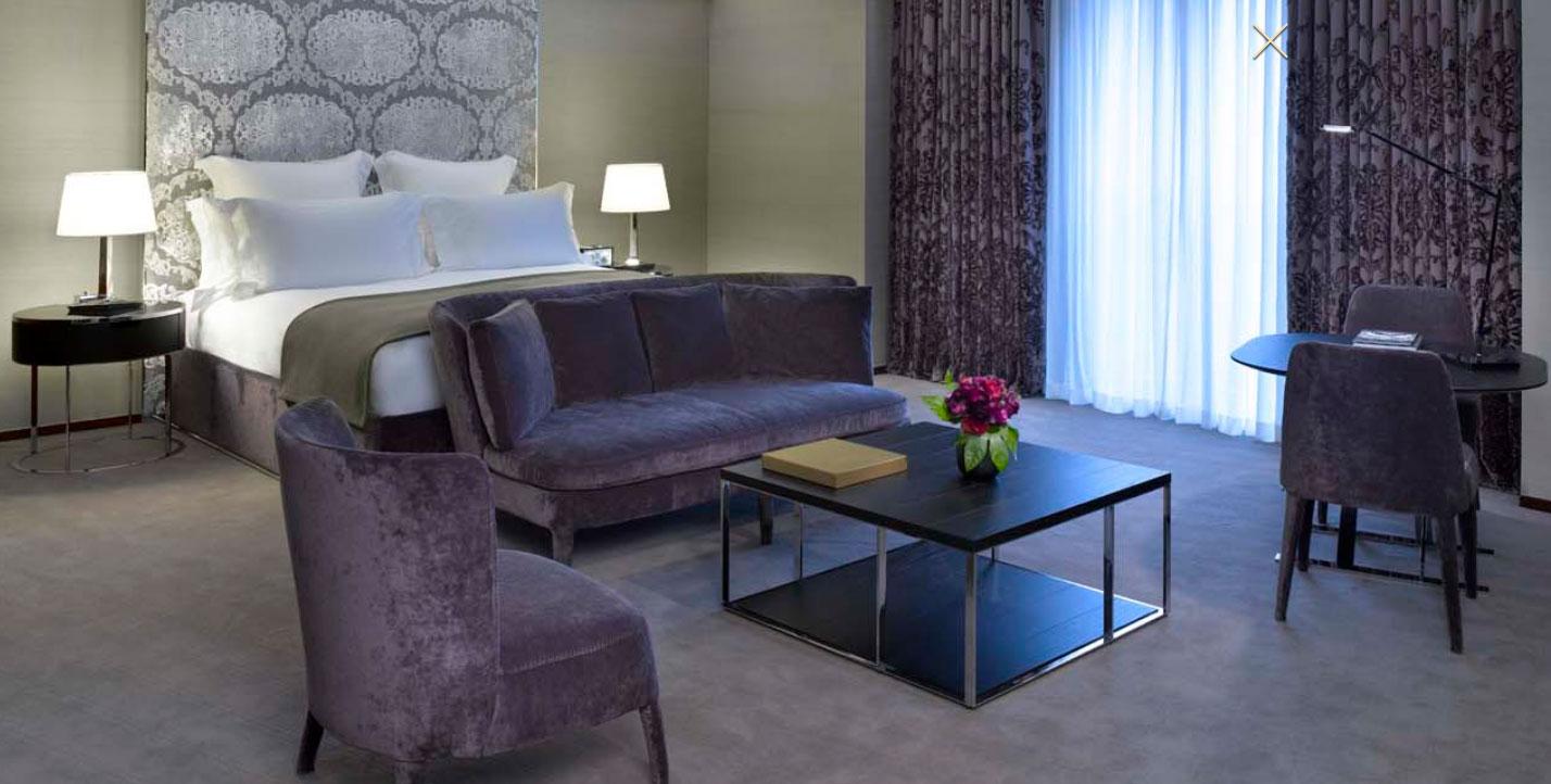 ブルガリ・ホテル・アンド・レジデンシズ・ロンドンのジュニアスイート