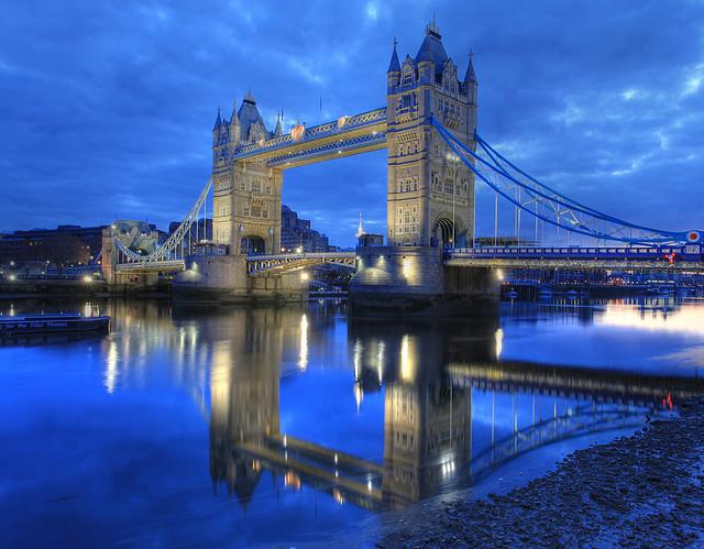 ロンドン橋の風景