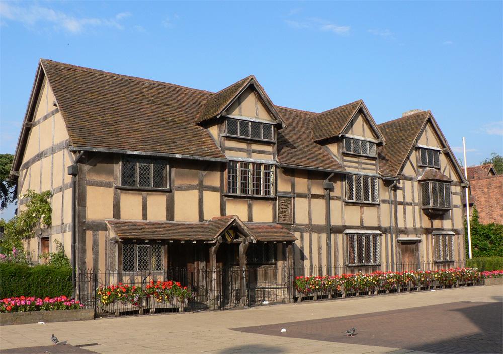 ストラットフォード・アポン・エイボンのシェイクスピアの家