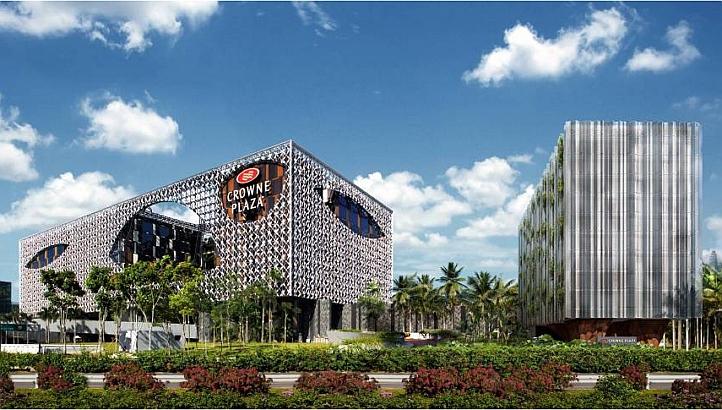 クラウン・プラザ・チャンギ・エアポート Crowne Plaza Changiの締めの紹介