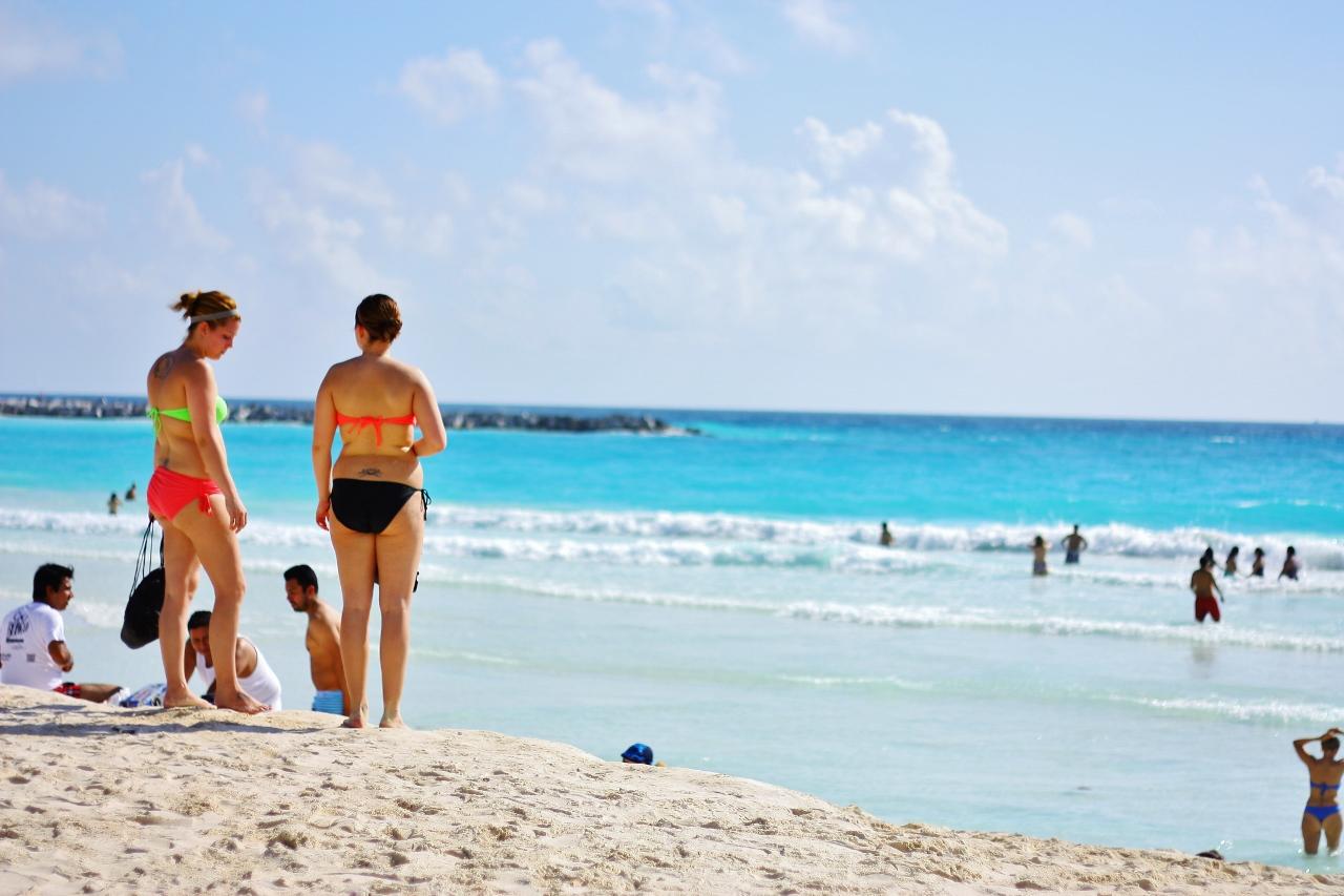 カンクンのビーチの風景