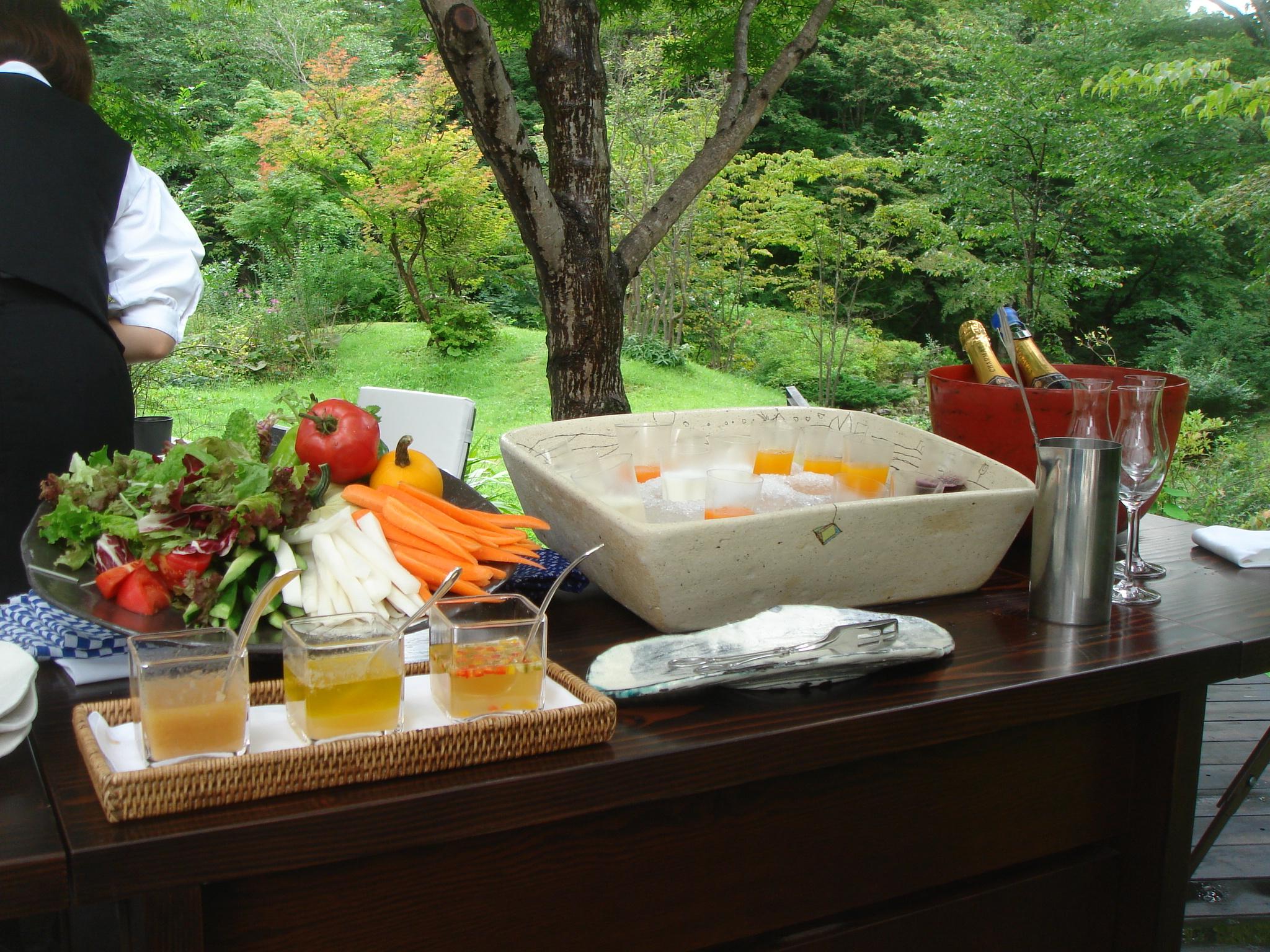 二期倶楽部の朝食