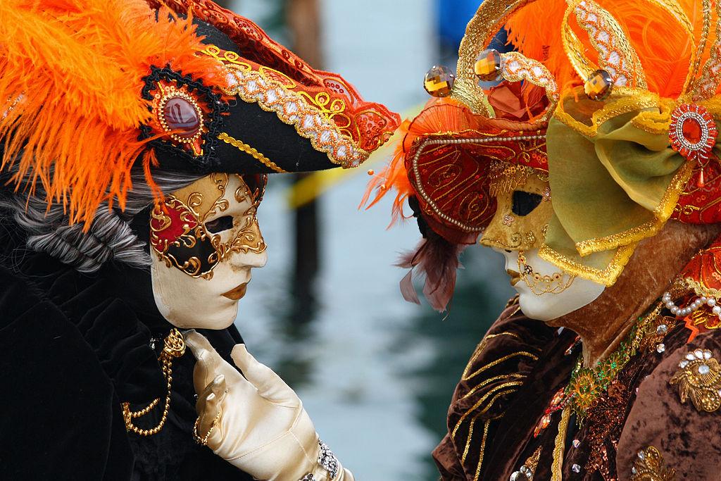 イタリア ヴェネツィア 仮面の画像