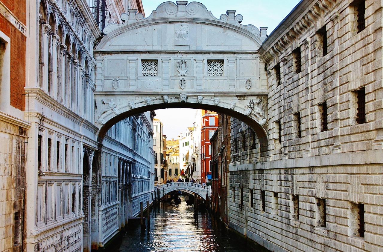 イタリア ヴェネツィア ため息橋 嘆きの橋