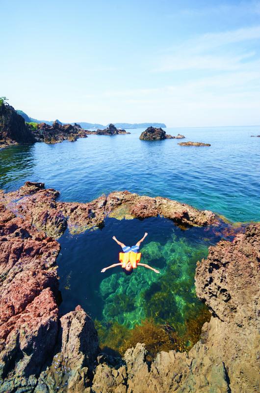 よしが浦温泉ランプの宿近くの聖域の岬