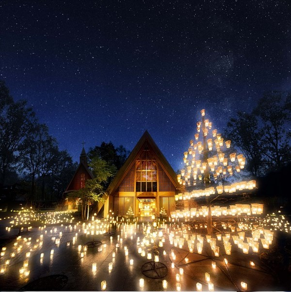 大正時代より続くやさしい灯りに包まれる軽井沢の夜「サマーキャンドルナイト」