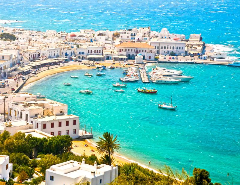 エーゲ海に浮かぶ白い宝石「ミコノス島」の織り成す美しすぎる景色