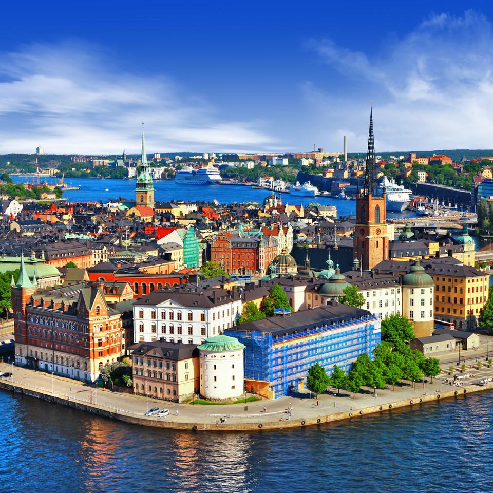 中世の古風な建築が保存されるスウェーデンの可愛すぎる旧市街地「ガムラスタン」