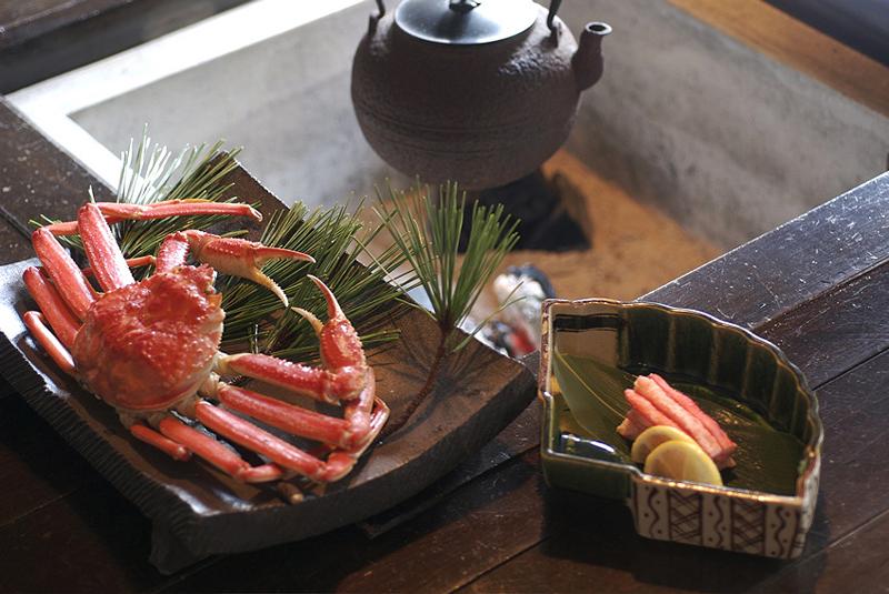 よしが浦温泉ランプの宿の料理
