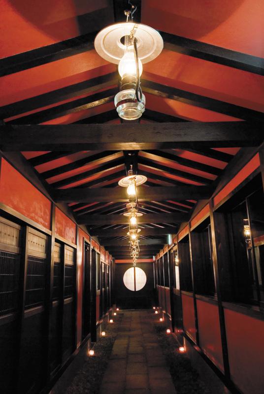 よしが浦温泉ランプの宿の館内
