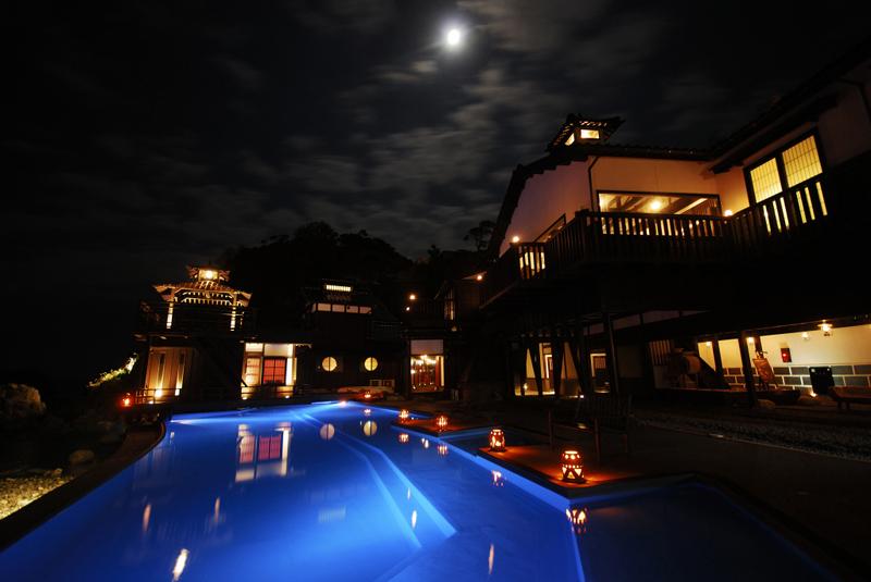 よしが浦温泉ランプの宿の風景
