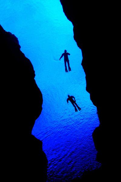 シルフラでダイビング
