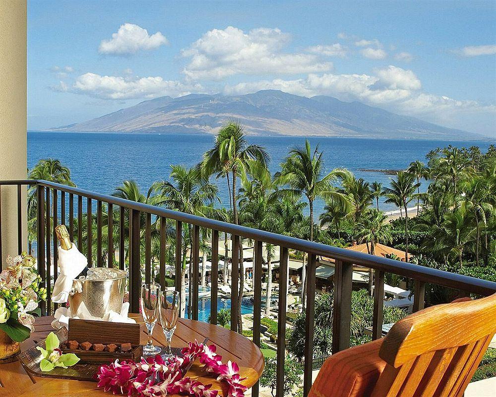 フォーシーズンズ・リゾート・マウイ・アット・ワイレア Four Seasons Resort Maui at Waileaからの眺め
