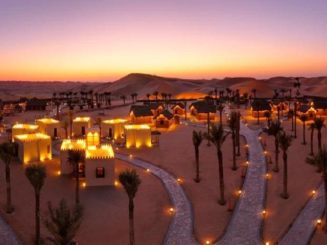 砂丘の楽園「アラビアンナイト文化遺産村」は素敵すぎる極上リゾート