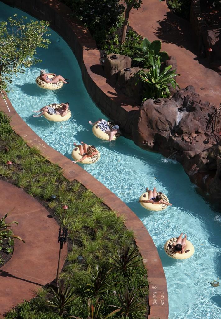 アウラニ・ディズニー・リゾート&スパ・コオリナ・ハワイのワイコロヘ・ストリーム