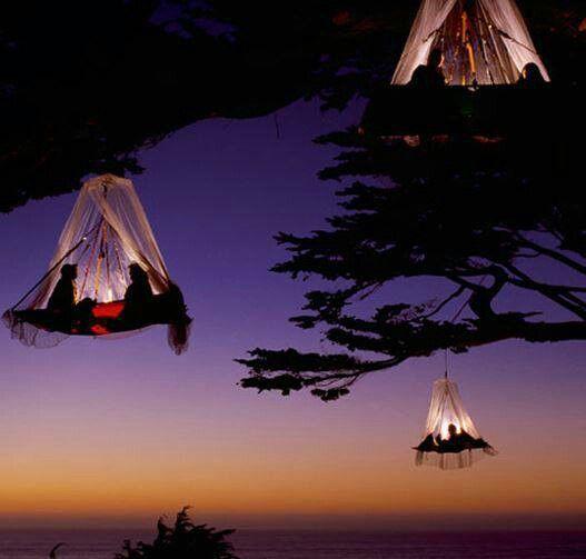 鳥になれちゃうホテル!?星空に浮かんで眠れるドイツのツリーキャンプ「ヴァルドゼイルガルテンリゾート」