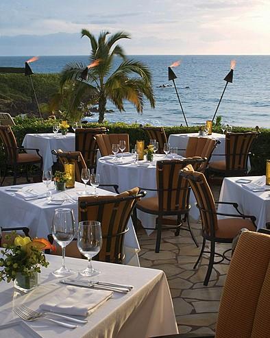 フォーシーズンズ・リゾート・マウイ・アット・ワイレア Four Seasons Resort Maui at Waileaのレストラン