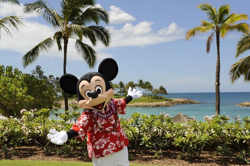 アウラニ・ディズニー・リゾート&スパ・コオリナ・ハワイのミッキーマウス