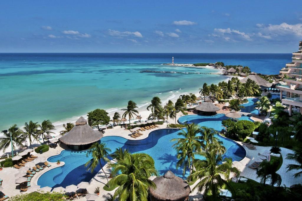 フィエスタ・アメリカーナ・グランド・コーラル・ビーチ・リゾート&スパ Fiesta Americana Grand Coral Beach Resort & Spaの風景