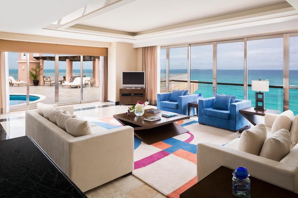 フィエスタ・アメリカーナ・グランド・コーラル・ビーチ・リゾート&スパ Fiesta Americana Grand Coral Beach Resort & Spaの客室
