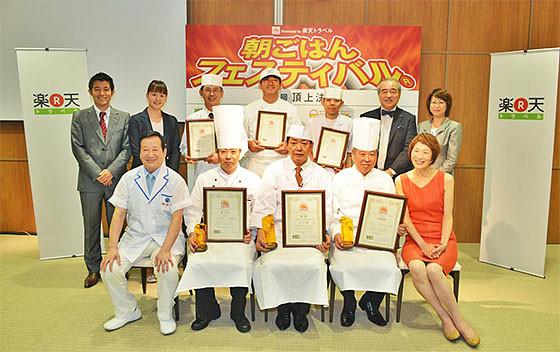 和みの畳風呂物語の宿 小川屋が日本一に輝いた朝ご飯フェス