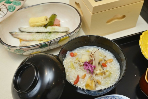 和みの畳風呂物語の宿 小川屋の朝ご飯