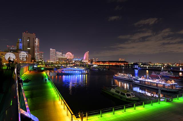 今夜から5日間開催♪「スマートイルミネーション横浜」が幻想的でとても素敵♡