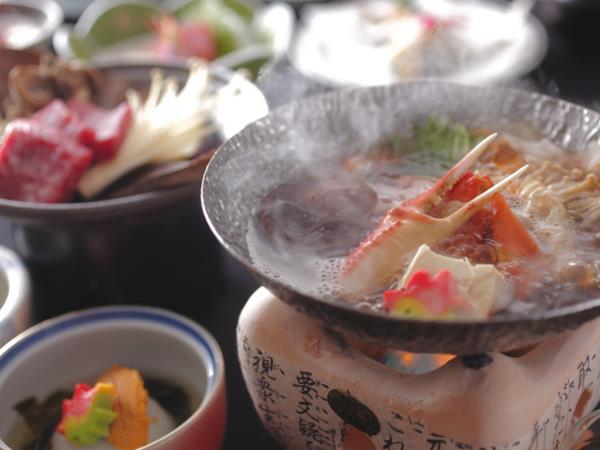和みの畳風呂物語の宿 小川屋の料理