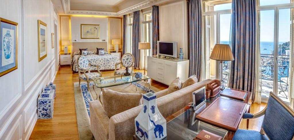 オテル・エルミタージュの客室