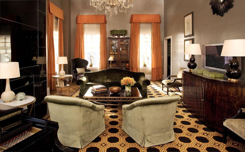カーライルの客室