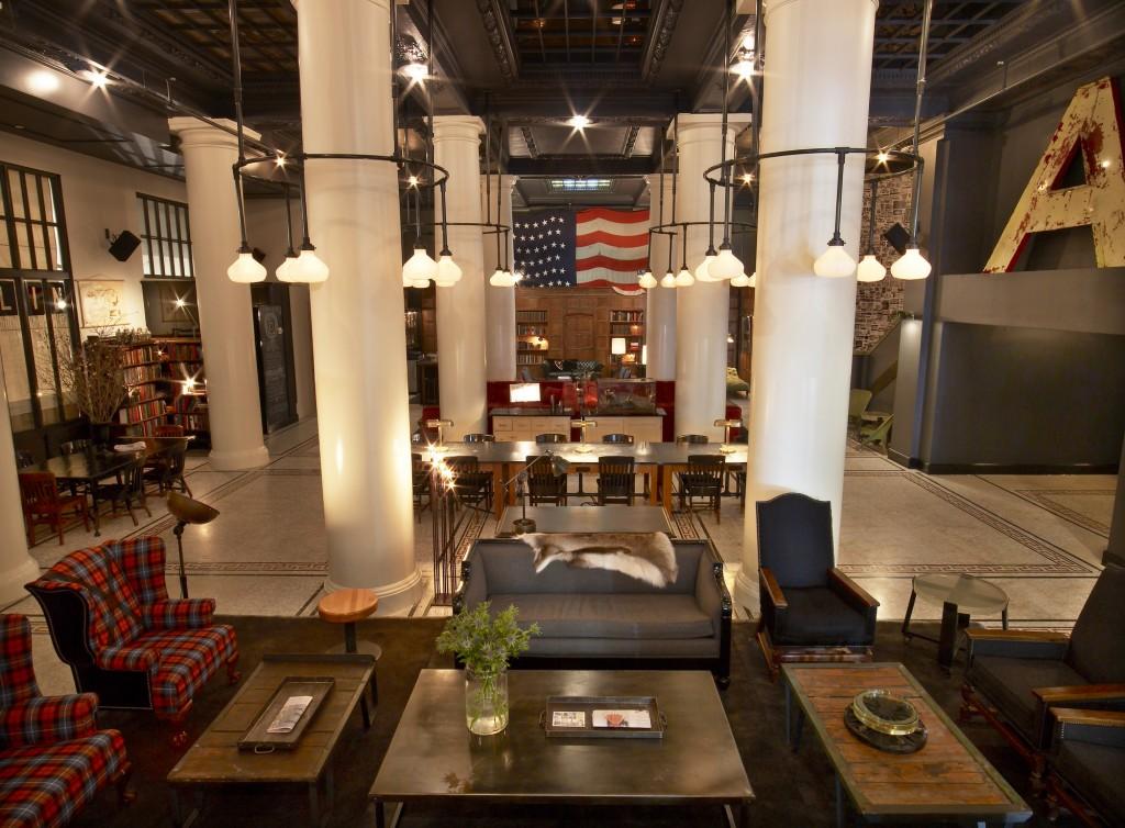 エース・ホテル・ニューヨーク(ACE HOTEL New York)のロビー