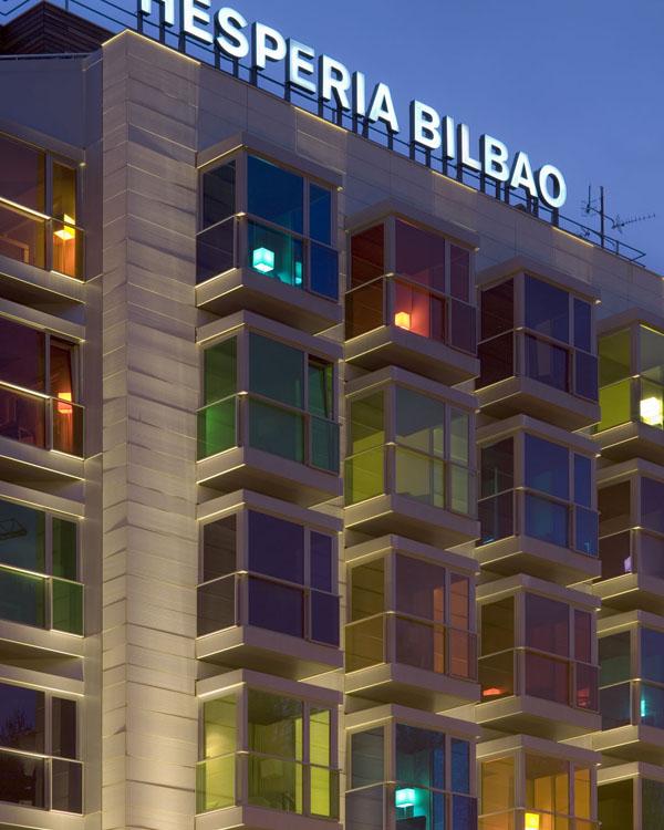 ホテルエスぺリアビルバオの外観