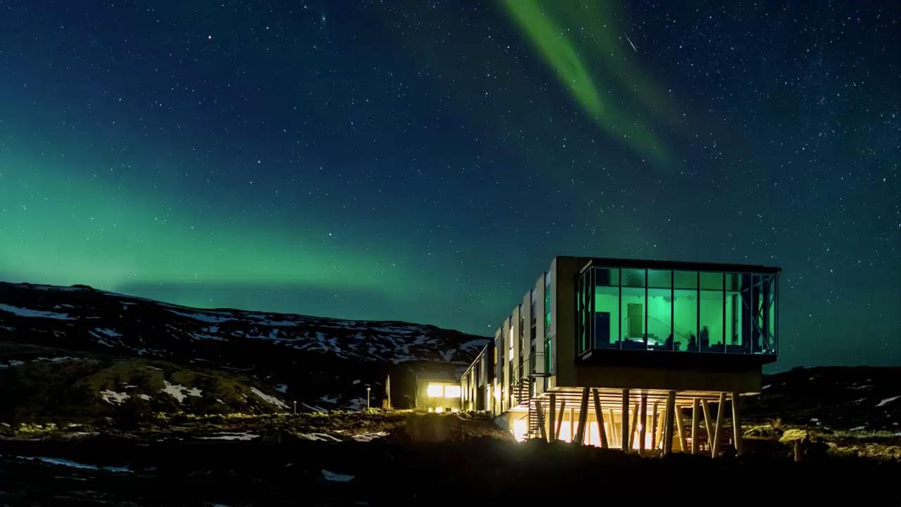 自然大国アイスランドを満喫しきる上品なデザインホテル「イオン・ラグジュアリー・アドベンチャーホテル」