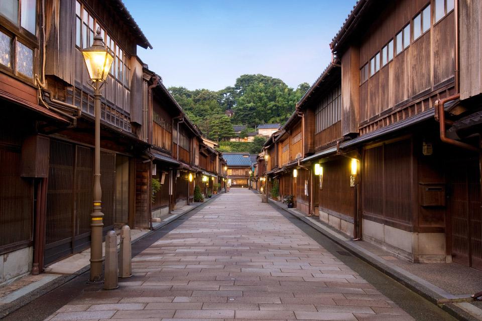 まだ見ぬ日本シリーズ:金沢三大茶屋街
