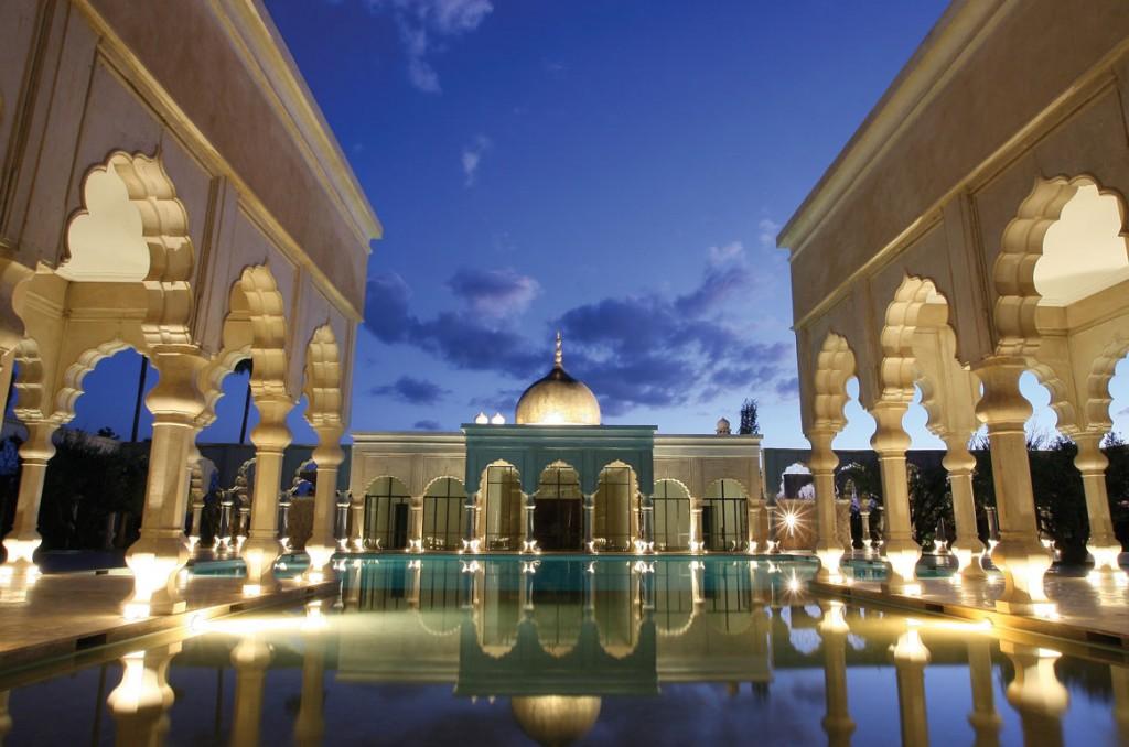 マラケシュの郊外に佇む美しき宮殿ホテル「パレ・ナマスカ」
