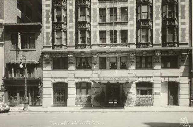 アルゴンキンホテルの昔の写真