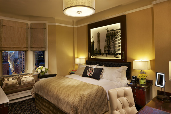 アルゴンキンホテルの客室