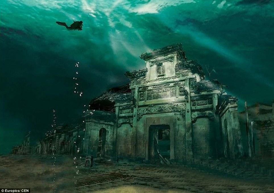 中国版アトランティス!?千島湖に沈んだ古代都市がとても神秘的
