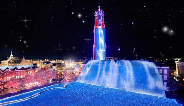 ハウステンボスの花と光の王国 2015