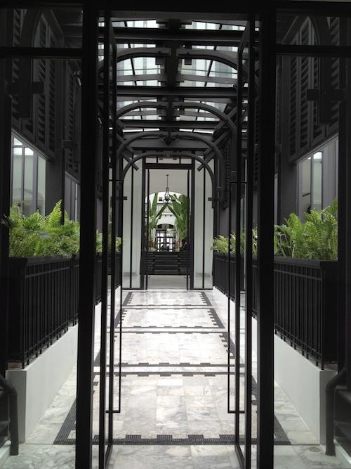 ザ・サイアムホテルの通路