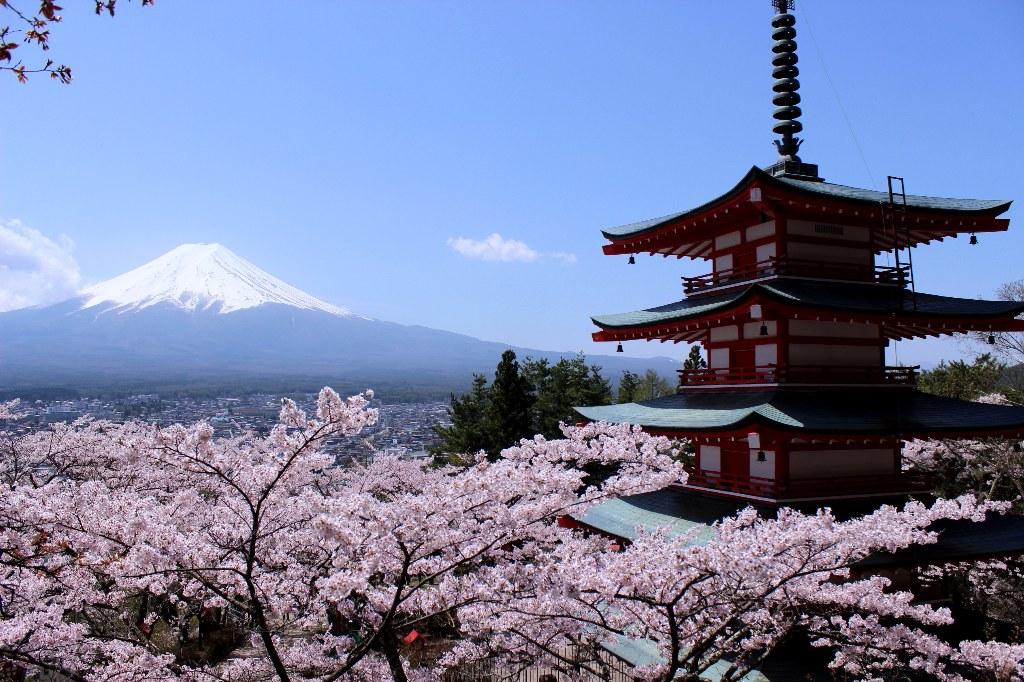 まだ見ぬ日本シリーズ:美しさを変化させる富士山の四季