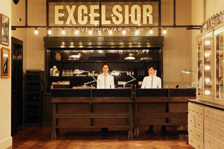 エース・ホテル・ニューヨーク(ACE HOTEL New York)のフロント