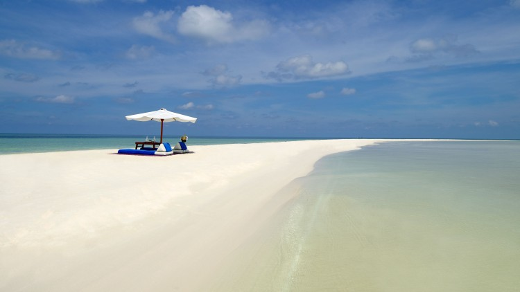 アマンプロのビーチ
