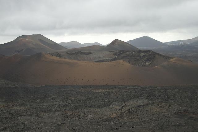 ランサローテ島のティマンファヤ国立公園